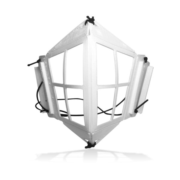 Essentium 3D Printed Mask 3