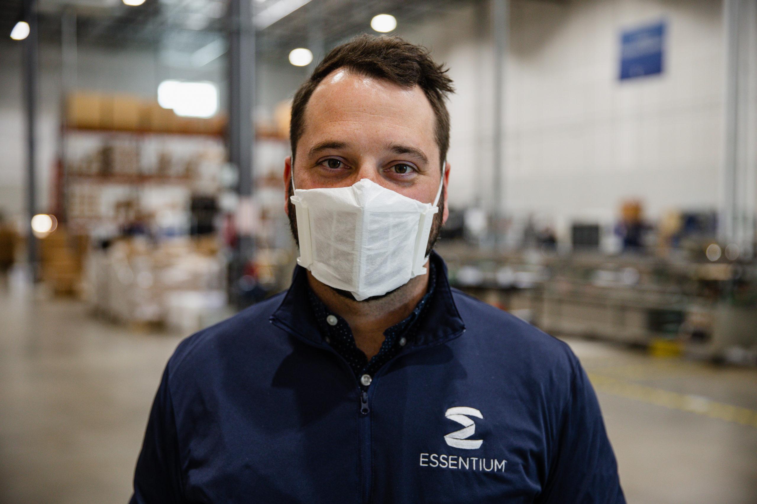 Essentium 3D Printed Mask_1